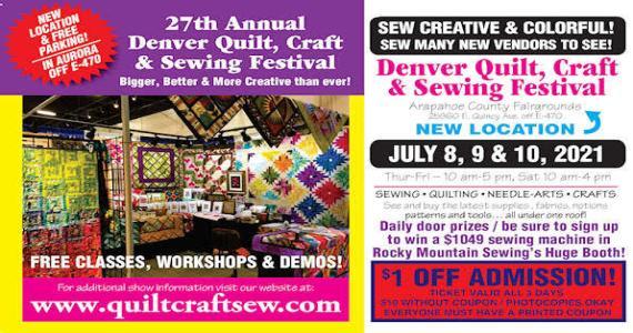 Quilt, Craft & Sewing Festival, Denver,  CO