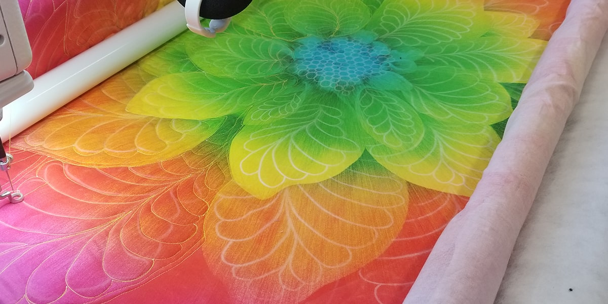 5 Quilting Creations Flower Quilt Stencil