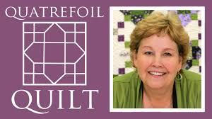 Quatrefoil Quilt Jenny Doan Youtube