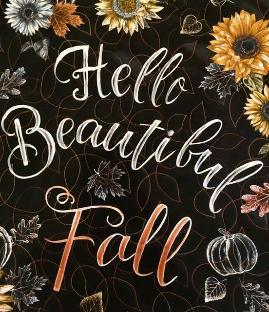 Hello Fall 2